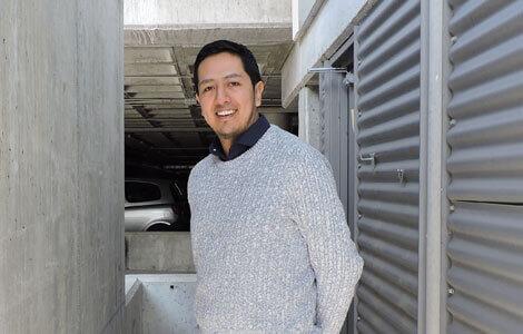 Marco Pilco, alumno ICEMD