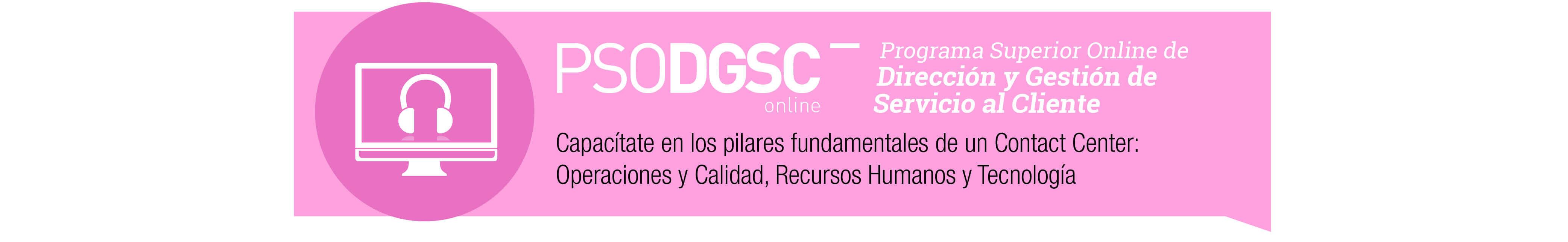 Programa Superior Online Dirección y Gestión Servicio Cliente
