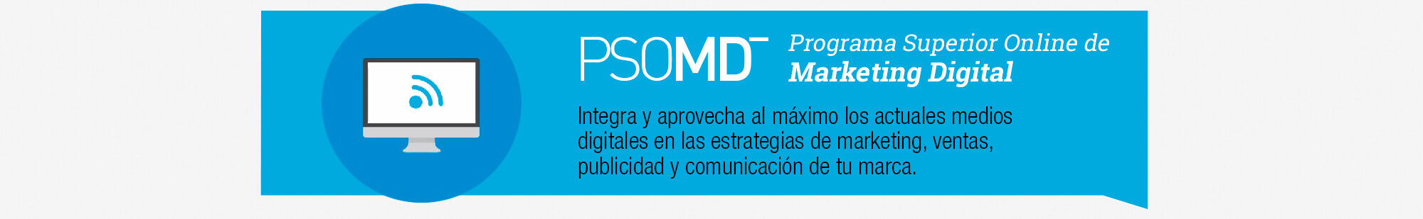 Programa Superior Online Marketing Digital