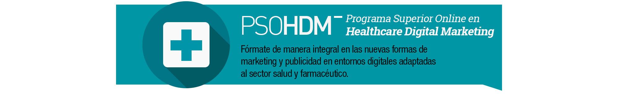 Programa Superior Online Healthcare Digital Marketing